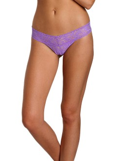 Hanky Panky Low Rise Thong Electric Orchid