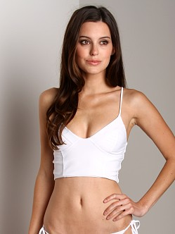 Tori Praver Jess Top White