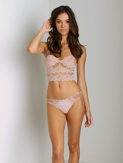 Only Hearts So Fine with Lace Thong Shell Pink