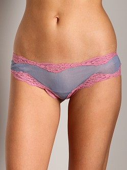 Only Hearts Tulle with Lace Brazilian Bikini Smoke/Rose