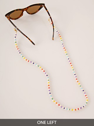 Golden Days LA Pearl w/Rainbow Mask Catcher/Sunglasses Chain