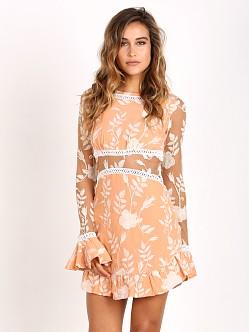 For Love Lemons Mia Long Sleeve Dress Peach Cd1426es Su16 Free