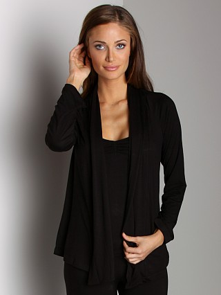 Complete the look: Eberjey Sadie Cardigan Black