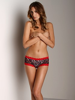 Hanky Panky Boy Short Black/Red