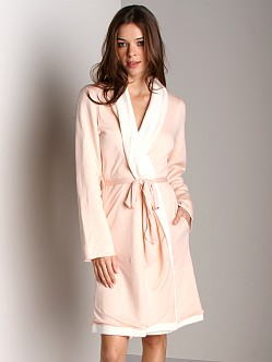 Eberjey Alpine Chic Classic Robe Blush