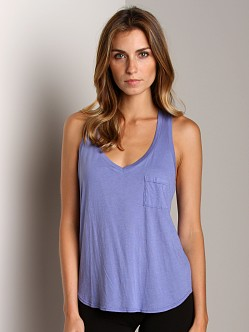 Splendid V Neck Tank Wave