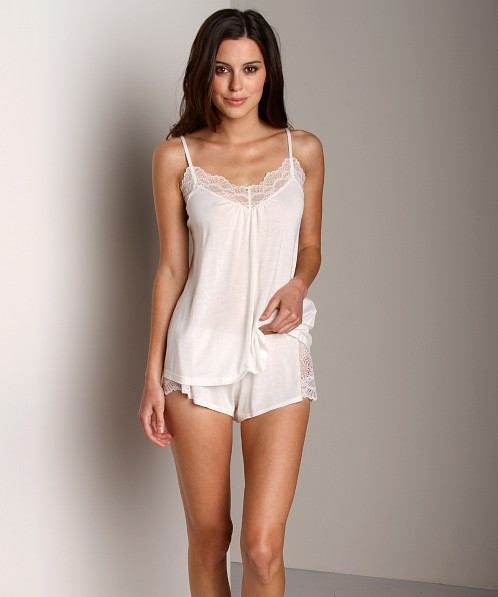 Only Hearts Venice Low Back Cami Antique White