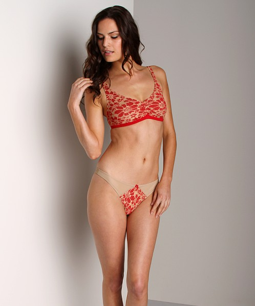1226b7de68d Only Hearts Barcelona Thong Red 51048 - Free Shipping at Largo Drive