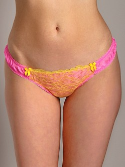 Mimi Holliday Kamikaze Pink Thong