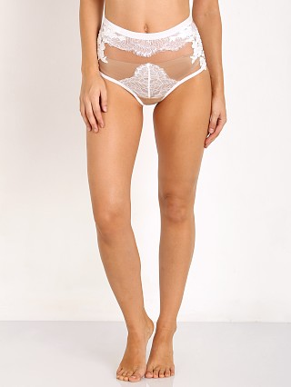 SKIVVIES by For Love & Lemons Flower Blossom Hi-Waist Panty Ivor