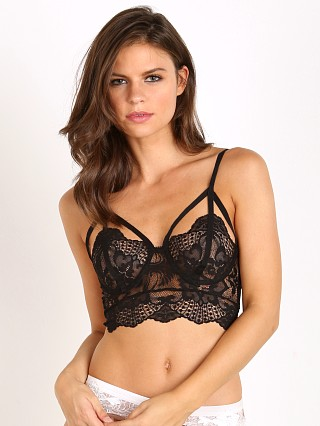 SKIVVIES by For Love & Lemons Esme Underwire Bra Black