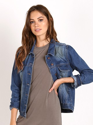 Complete the look: One Teaspoon Blue Cult Rock N Roller Denim Jacket