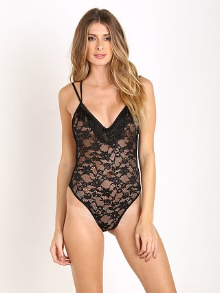 Lovers + Friends Second Nature Bodysuit Black