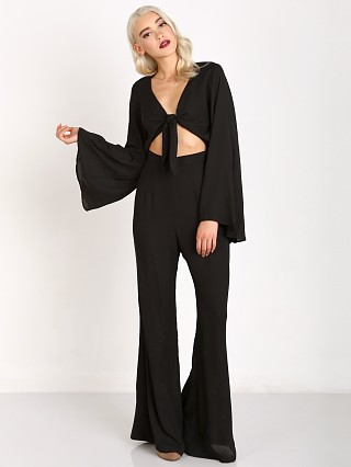 Show Me Your Mumu Jaelynn Jumpsuit Black Crisp