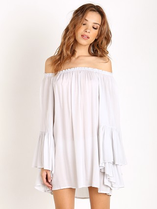 Indah Kamani Angel Wing Tunic Ice