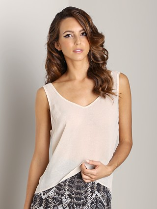 Show Me Your Mumu Kelsey Tank Cream Chiffon