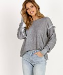 WILDFOX Adri Sweatshirt Heather, view 2