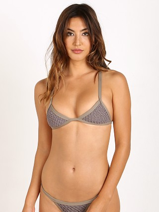 Posh Pua Kainalu Crochet Top Smoke