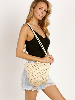 Unalome Marfa Handcrafted Straw Shoulder Bag