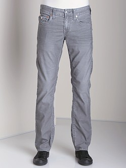 True Religion Ricky Stretch Corduroy Smoke