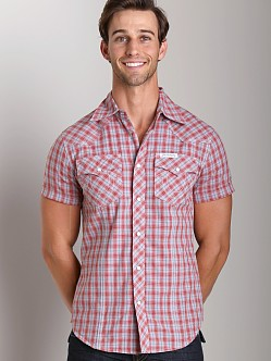 True Religion Rocky Plaid Shirt Chili
