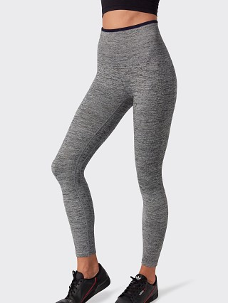 Model in grey Splits59 Mila Seamless High Waist 7/8 Legging