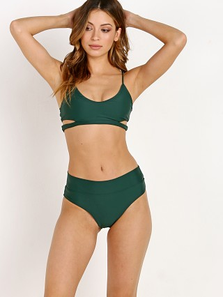 Stone Fox Swim Palo Bikini Top Herbal