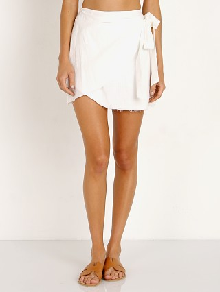 Sage the Label Devon Wrap Skirt White