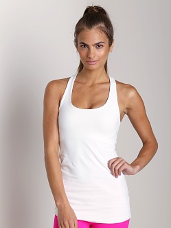 Beyond Yoga Supplex Tops Long Racerback Cami White