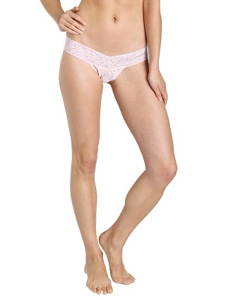 Complete the look: Hanky Panky Braidmaid Low Rise Thong Bliss