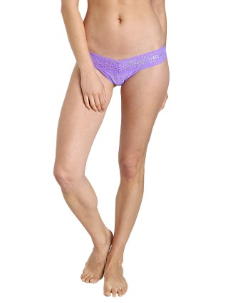 Hanky Panky Braidmaid Low Rise Thong Electric Orchid