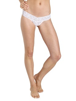 Hanky Panky Bride Low Rise Thong White