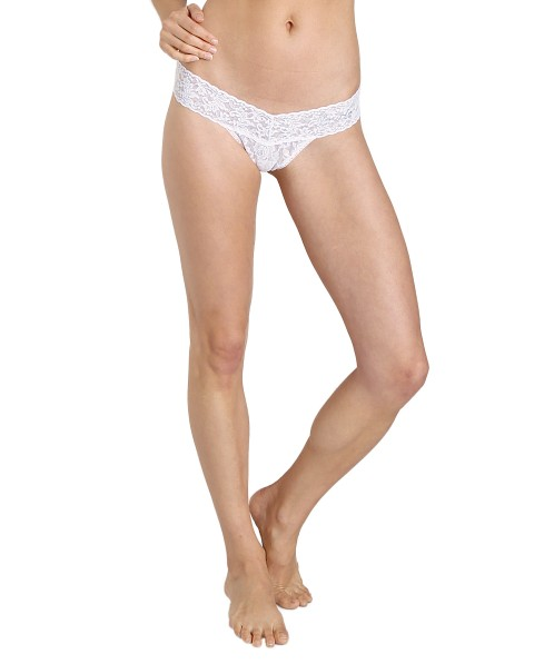4d9fa1f07 Hanky Panky Bride Low Rise Thong White 491041 - Free Shipping at ...