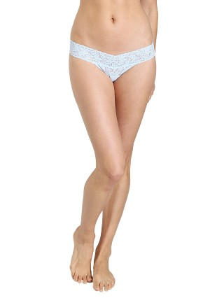 Hanky Panky Bride Low Rise Thong Powder Blue