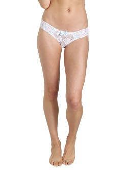 Hanky Panky Madeline Low Rise Thong White