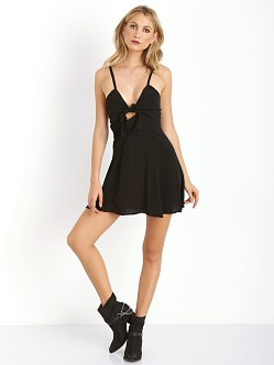 Myne Virgo Dress Black