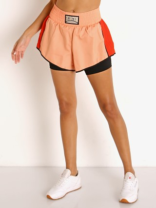 Model in nude pink PE NATION Cornerman Short