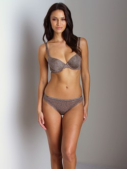Calvin Klein Seductive Comfort With Lace Thong Urban Cheetah
