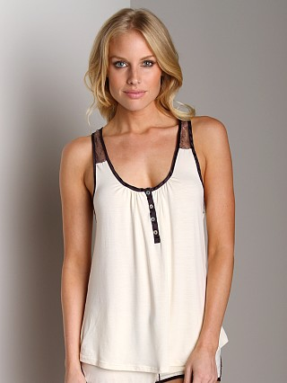 Complete the look: Fleur't Lace Trimmed Tank Ivory