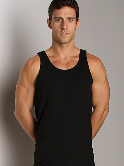 Nudie Jeans Organic Cotton Tank Top Black