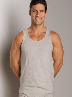 Nudie Jeans Organic Cotton Tank Top Grey