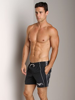 Emporio Armani Seven Stripes Techno Swim Shorts Marine