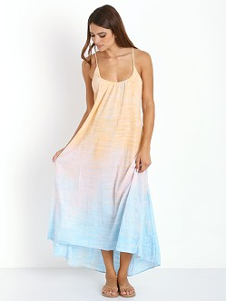 9seed Seychelles Low Back Maxi Dress Jupiter Tie Dye