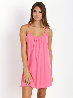 9seed Nosara Low Back Mini Dress Flamingo