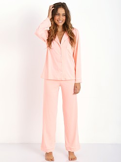 Eberjey Gisele PJ Set Orange Sherbert