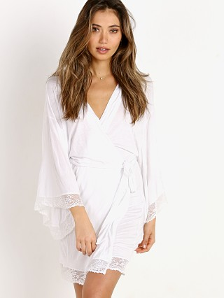 You may also like: Eberjey Colette Kimono Robe with Lace White