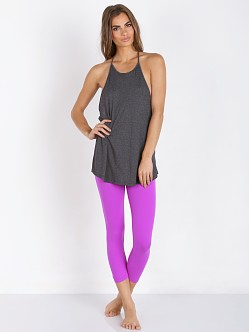 Beyond Yoga Endless Summers Halter Tank Heather Grey