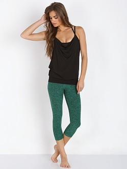 Beyond Yoga Capri Legging Emerald Space Dye