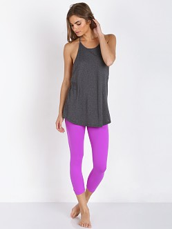 Beyond Yoga Back Gather Legging Purple Orchid