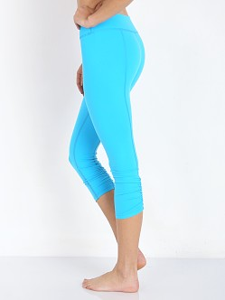 Beyond Yoga Back Gather Legging Turquoise Tide